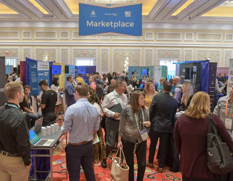 The Marketplace was bustling with attendees eager to check out the latest and greatest solutions in the martech space.