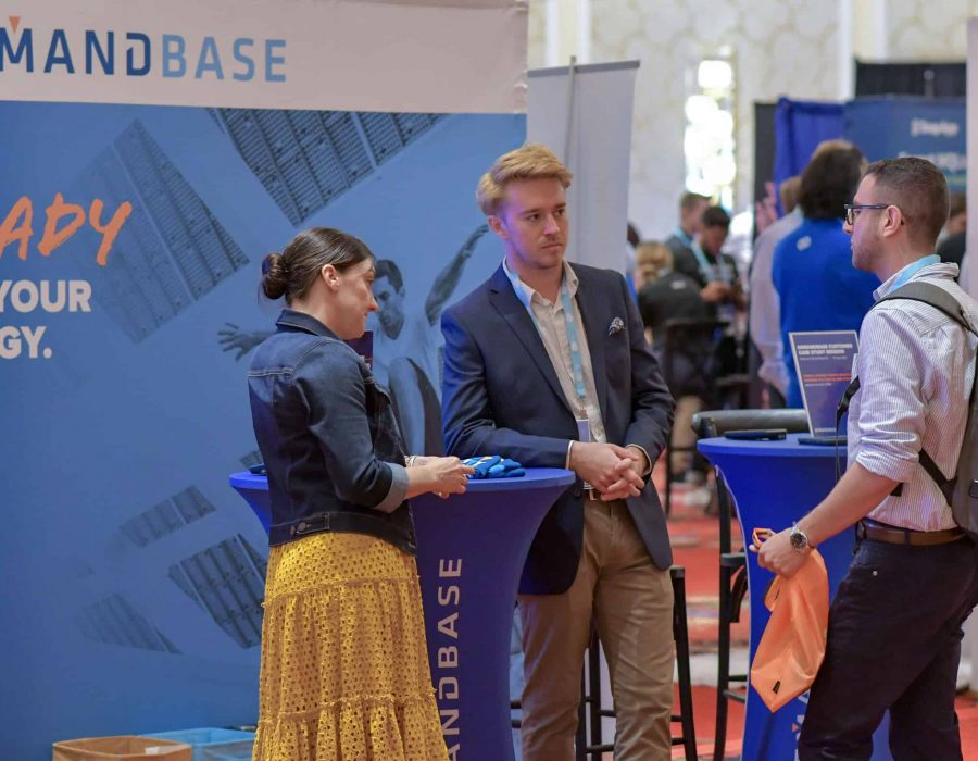 In between sessions, representatives of some of the biggest brands in B2B were able to get up close and personal with attendees curious about their solutions.