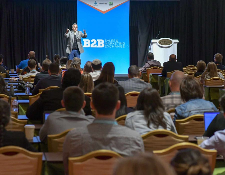 Tim Riesterer energized the crowd with a discussion on how winning B2B brands are crafting powerful and personalized conversations for both acquisition and retention strategies.